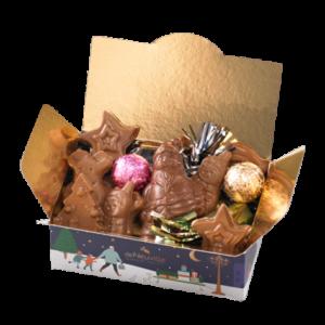 ballotin enfant chocolat noel deNeuville