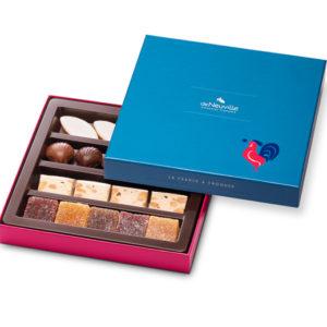 coffret spécialités régionales chocolat DeNeuville