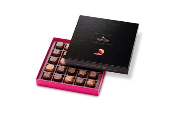 coffre initiation chocolat DeNeuville