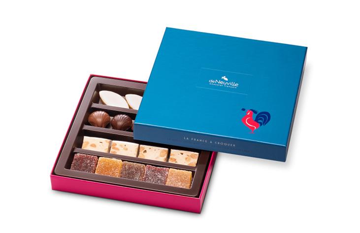 coffret découverte chocolat deNeuville