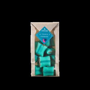 grand sachet de coussins de Lyon chocolat deNeuville