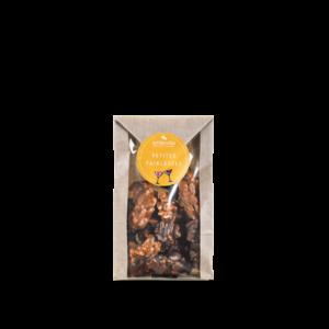petit sachet de croqamandes chocolat deNeuville