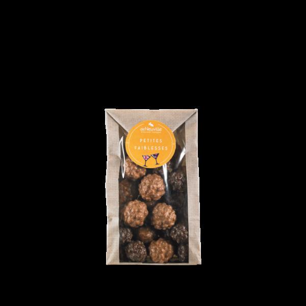 petit sachet mini rochers chocolats deNeuville